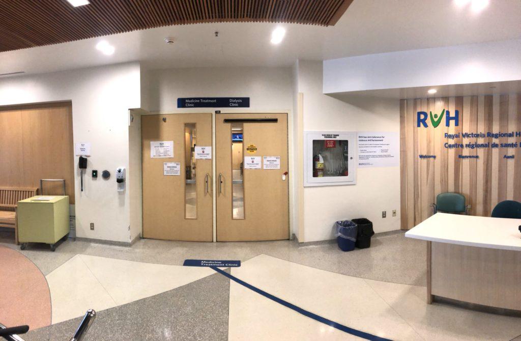 Medicine Treatment Clinic entrance