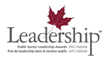 leadership logo. Maple leaf