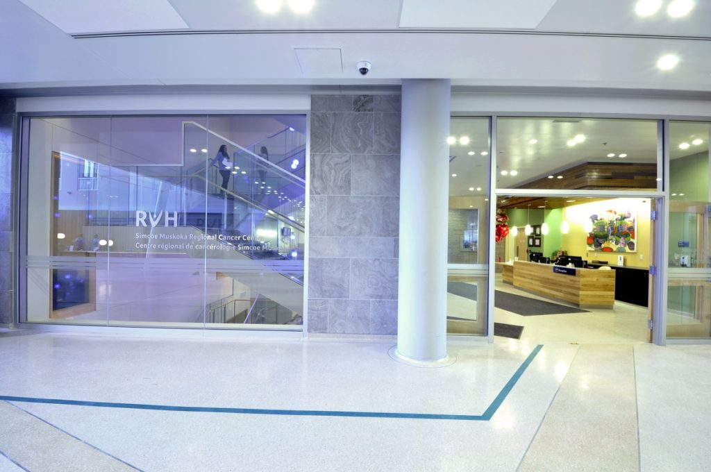 RVH's Cancer Centre entrance web