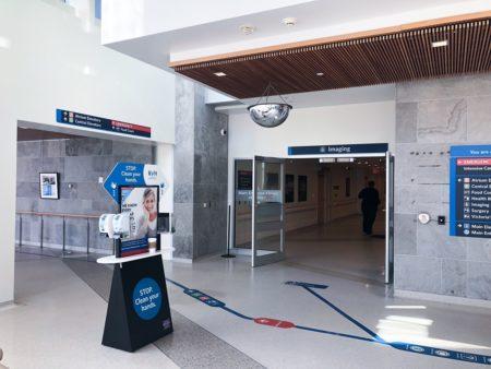 Medical Imaging Services entrance