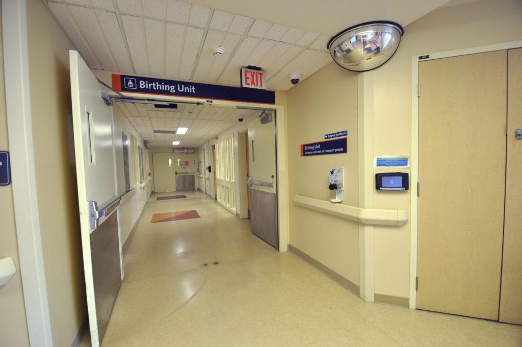 Birthing Unit entrance