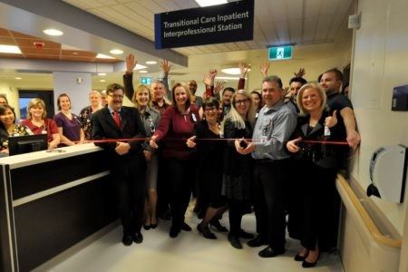 Transitional Care Unit Ribbon Cutting