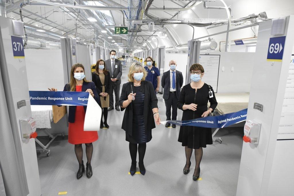 RVH Pandemic Response Unit ribbon cutting