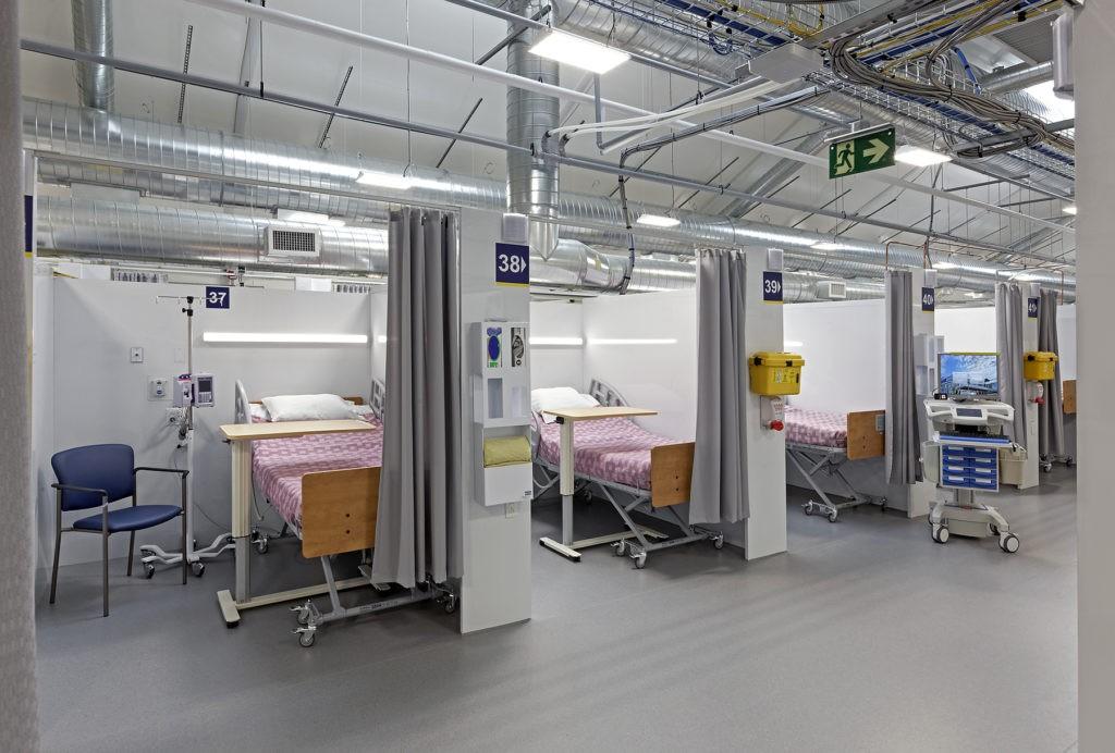 PRU patient bays