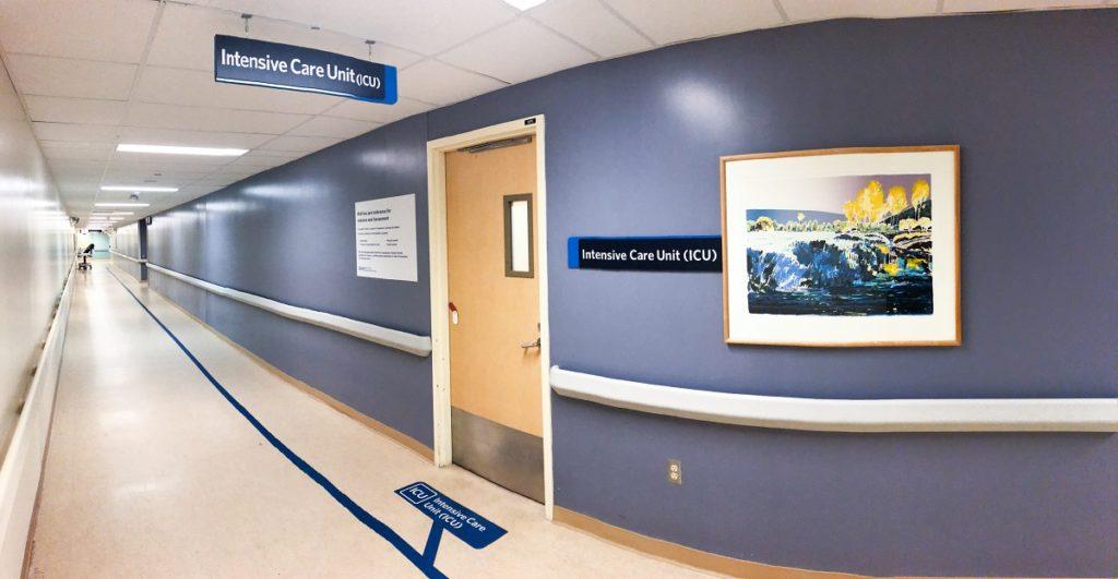 Intensive Care Unit (ICU) Entrance