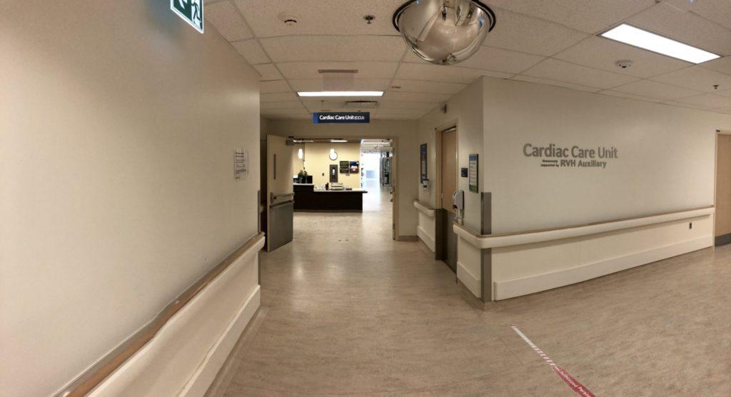 Cardiac Care Unit entrance