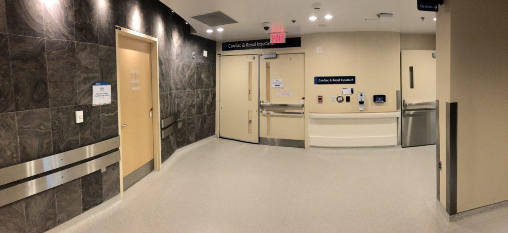 Cardiac and Renal entrance