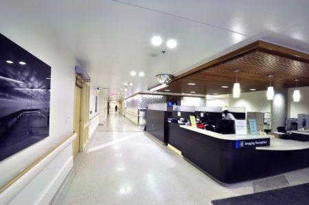 Imaging reception entrance