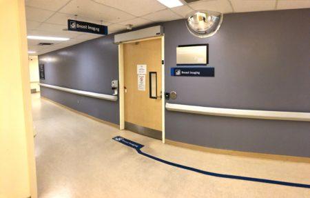 Breast Imaging entrance