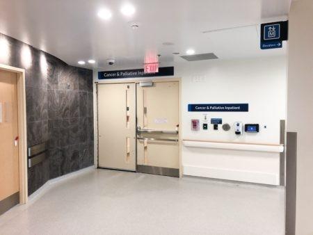 Cancer & Palliative Inpatient entrance