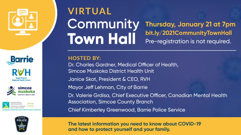 Community TownHall Poster