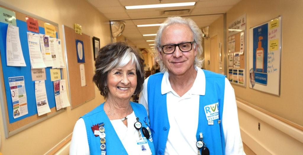 Volunteers in RVH Emergency department