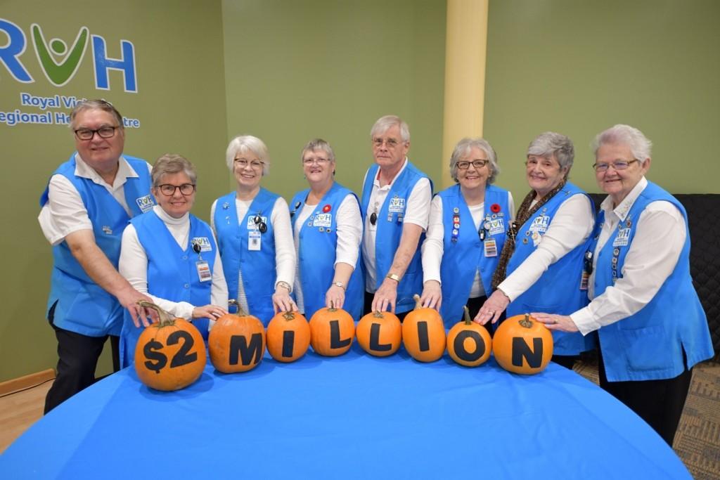 RVH Auxiliary donate $2 Million