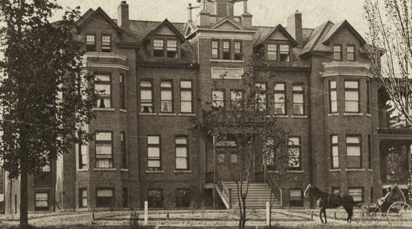 1903 RVH building on Ross Street