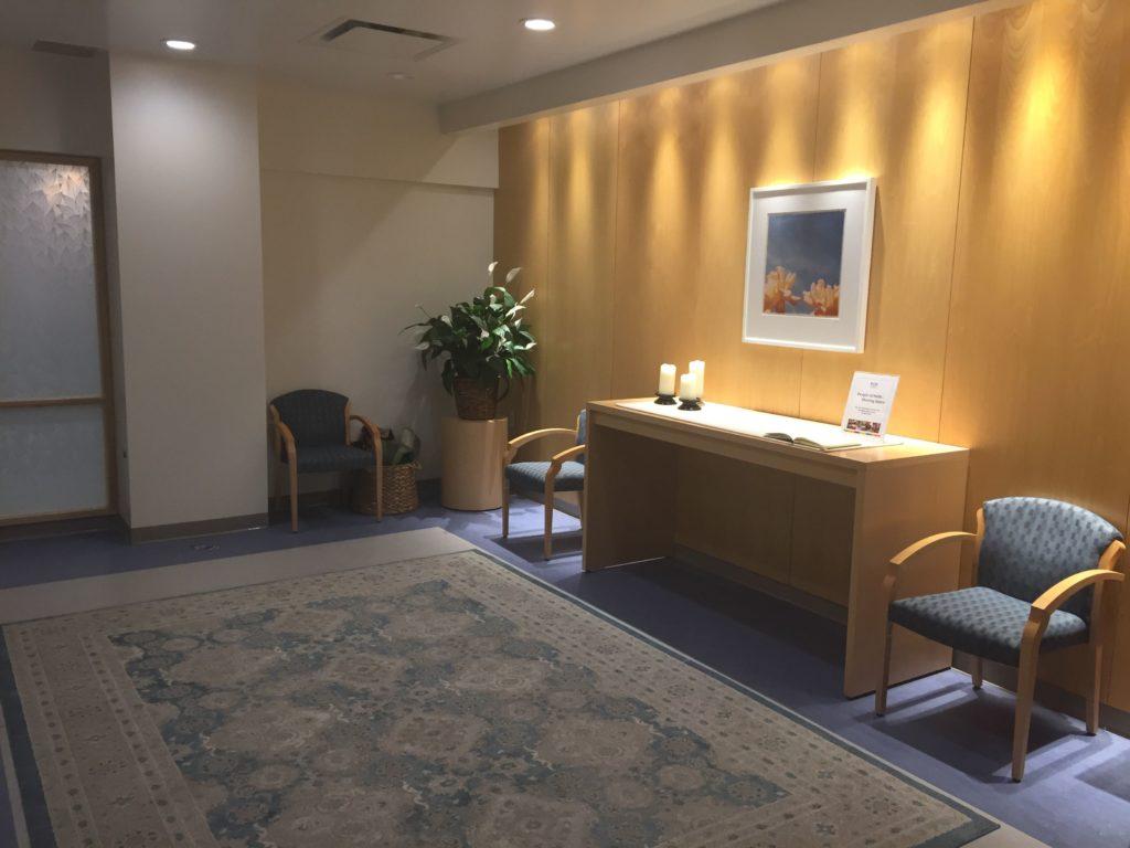 Spiritual Care room