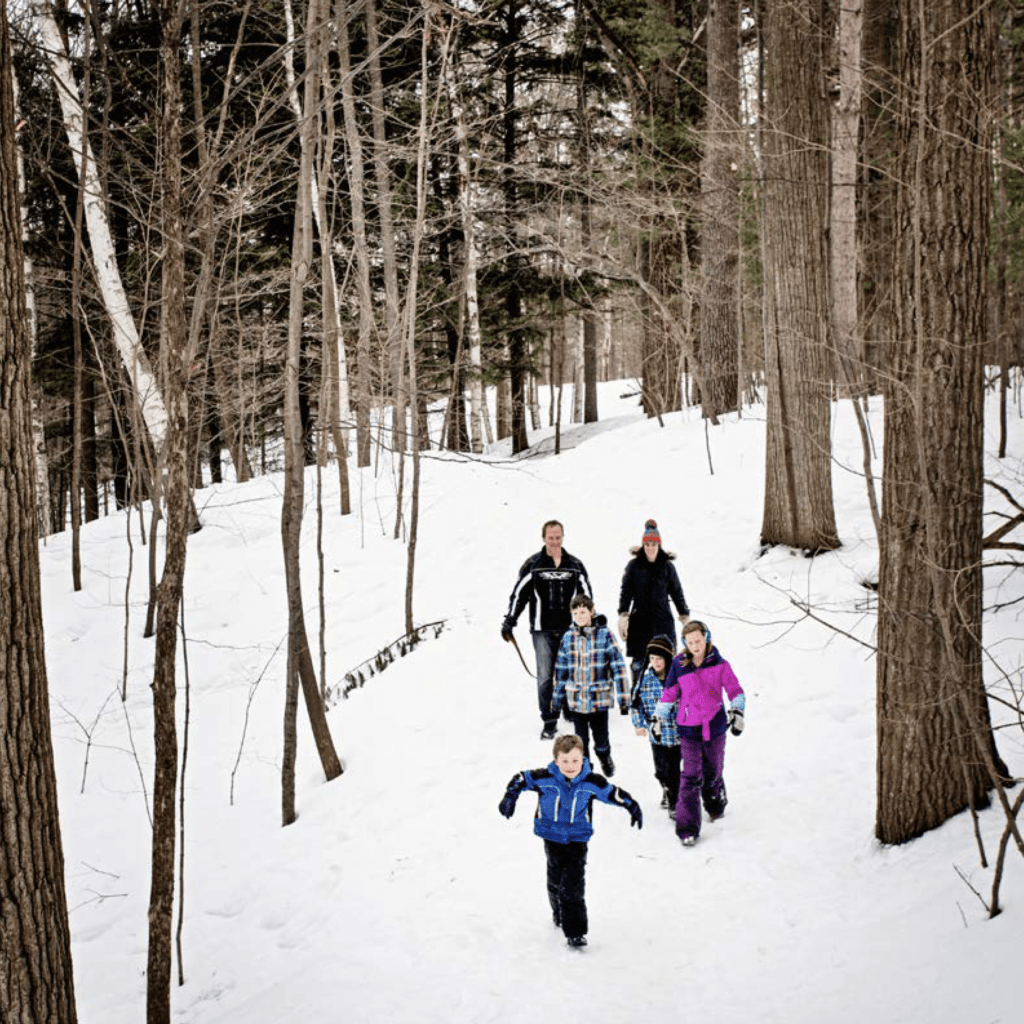 Hiking in Barrie